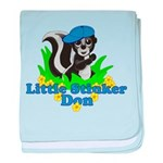Little Stinker Don baby blanket