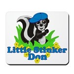 Little Stinker Don Mousepad