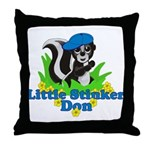 Little Stinker Don Throw Pillow