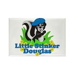 Little Stinker Douglas Rectangle Magnet