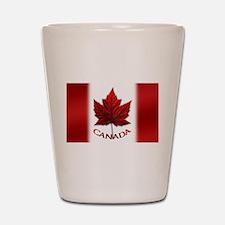 Canada Flag Souvenir Shot Glass