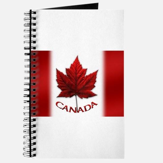 Canada Flag Souvenir Journal