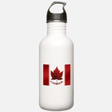 Canada Flag Souvenir Water Bottle