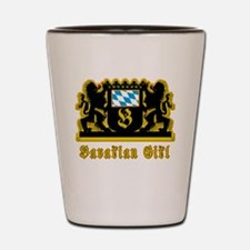 Bavarian Girl Oktoberfest Shot Glass