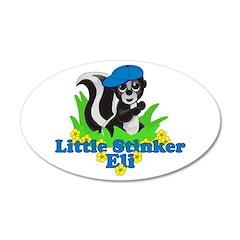 Little Stinker Eli 22x14 Oval Wall Peel