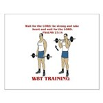 W8T Training Small Poster