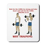 W8T Training Mousepad