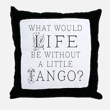 Tango Dancer Throw Pillow