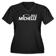 Michelle Bachmann 2012 Women's Plus Size V-Neck Da