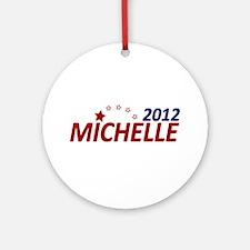 Michelle Bachmann 2012 Ornament (Round)