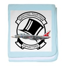 VF-14 Tophatters baby blanket