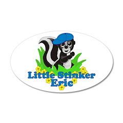 Little Stinker Eric 38.5 x 24.5 Oval Wall Peel