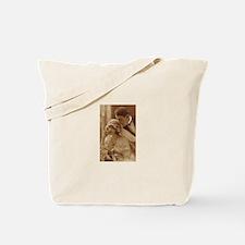 Vintage Wedding Tote Bag