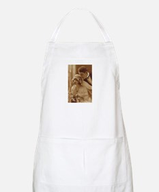 Vintage Wedding BBQ Apron