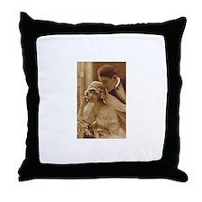 Vintage Wedding Throw Pillow