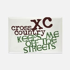 XC Keeps off Streets © Rectangle Magnet (100 pack)