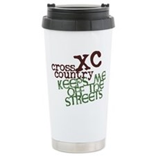 Xc Keeps Off Streets Travel Mug