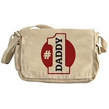#1 Daddy Messenger Bag