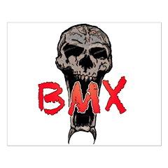 BMX skull Posters