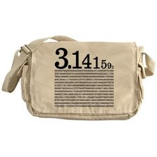 3.1415926 Pi Messenger Bag
