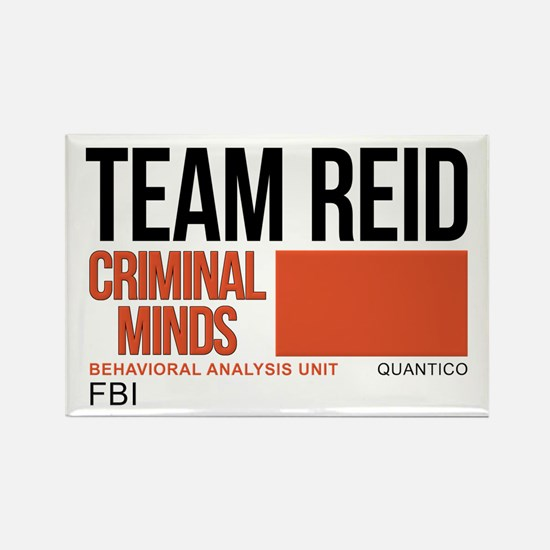 Team Reid Criminal Minds Rectangle Magnet