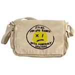 Fun & Games Messenger Bag