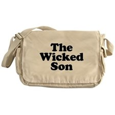 The Wicked Son Messenger Bag