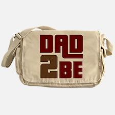 Dad 2 Be Messenger Bag