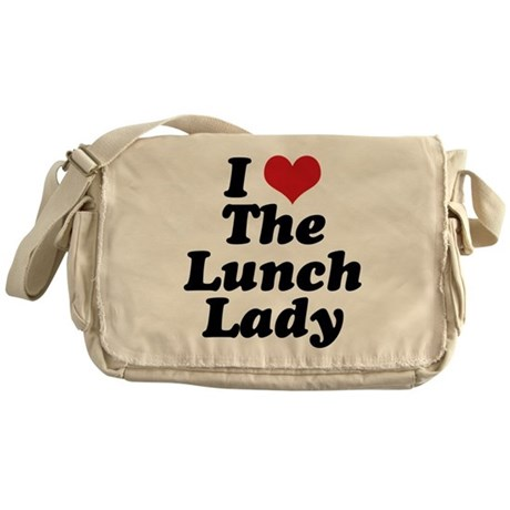 Lunch Lady Messenger Bag