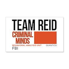 Team Reid Criminal Minds 22x14 Wall Peel
