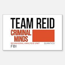 Team Reid Criminal Minds Sticker (Rectangle)