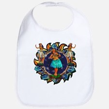 Heavenly Hulas Bib