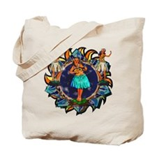 Heavenly Hulas Tote Bag