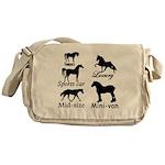 Horse Cars Messenger Bag