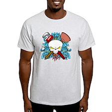 Plumber Skull T-Shirt