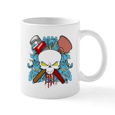Plumber Skull Mug