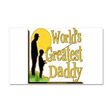 Best Daddy Fishing Car Magnet 20 x 12
