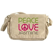 Peace Love Jasmine Messenger Bag