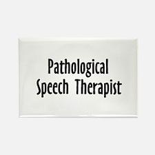 Pathological Speech Therapist Rectangle Magnet (10