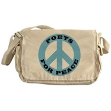 Poets For Peace Messenger Bag