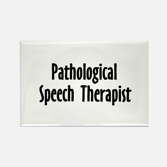 Pathological Speech Therapist Rectangle Magnet (10