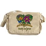 Beautiful Grandmother Messenger Bag