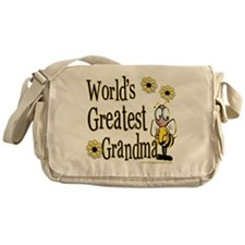 Grandma Bumble Bee Messenger Bag