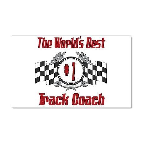 Racing Track Coach Car Magnet 20 x 12