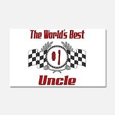 Racing Uncle Car Magnet 20 x 12
