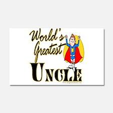 Super Uncle Car Magnet 20 x 12