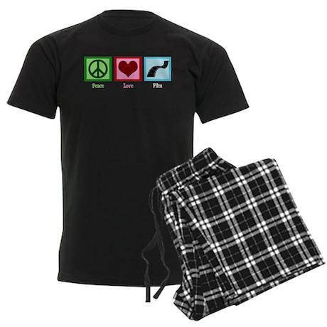 Peace Love Film Men's Dark Pajamas