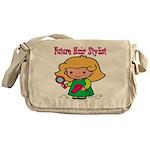 Future Hair Stylist Messenger Bag
