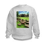 Angkor Wat Ruined Causeway Kids Sweatshirt