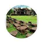 Angkor Wat Ruined Causeway Ornament (Round)